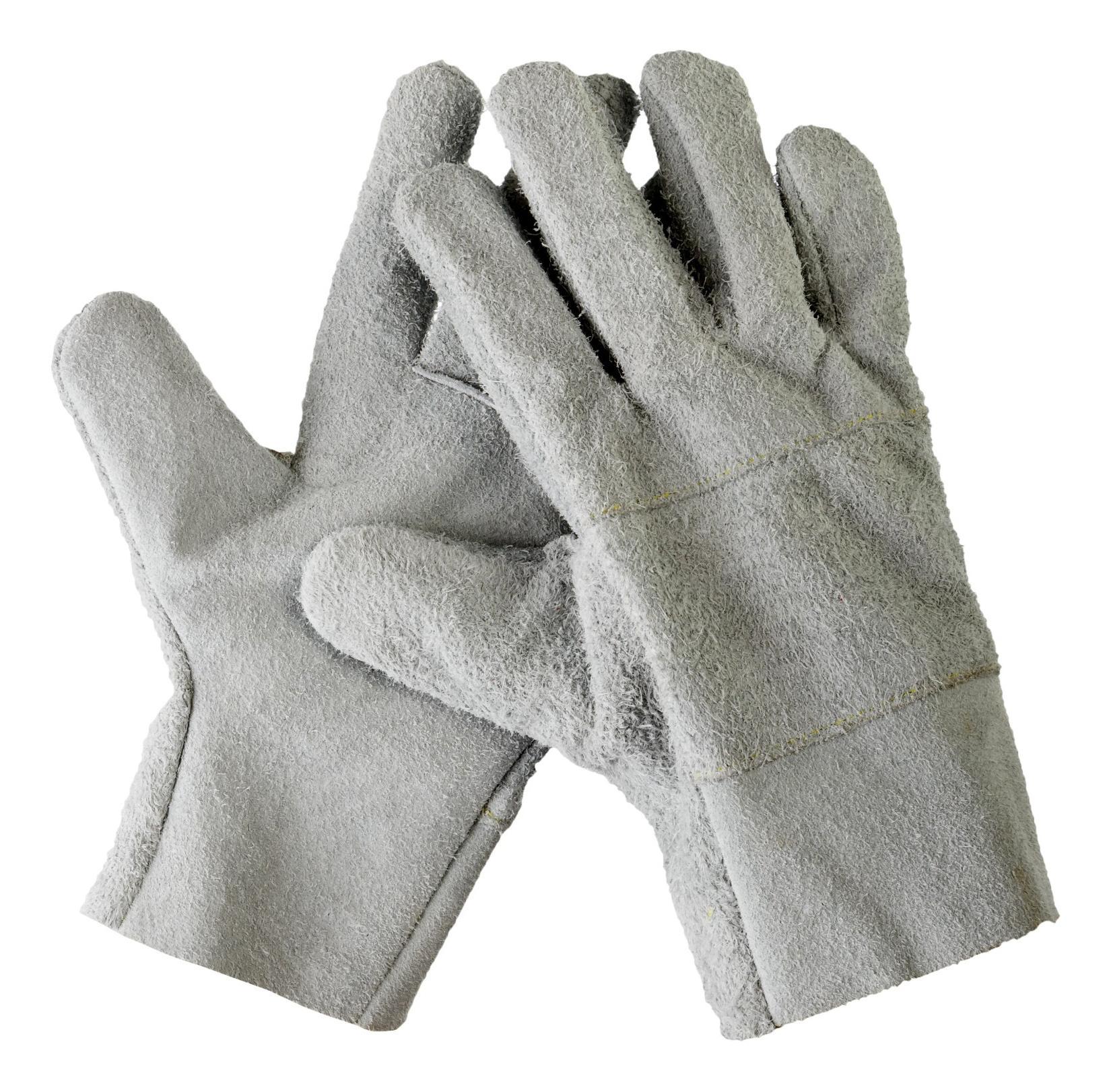 Перчатки СИБИН рабочие кожаные, из спилка, XL Image