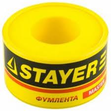 "Фумлента STAYER ""MASTER"", плотность 0,25 г/см3, 0,075ммх19ммх10м Image"